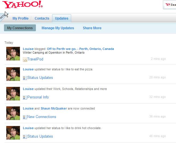 yahoo  profiles