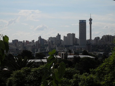 Johannesburg Skyline by Ianvictoria