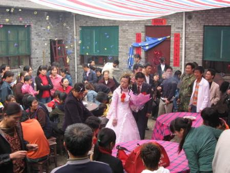 Ruudbatta at a wedding in Linfen