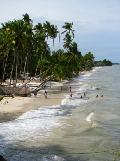 The beach in Panglao