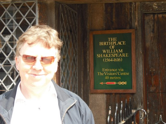 Roberth at Shakespeare's house