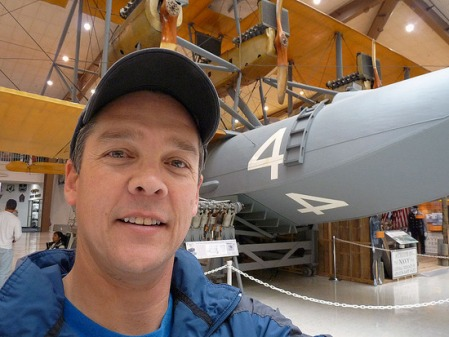 Johnrandall at the naval aviation museum