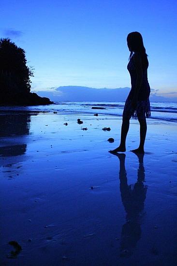Blue sunrise at Panglao Beach