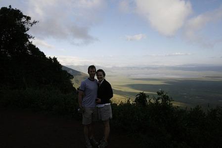 Shumphlett at the Ngorongoro Crater