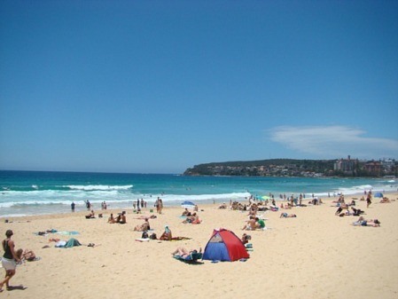 Chiemi at Manly Beach