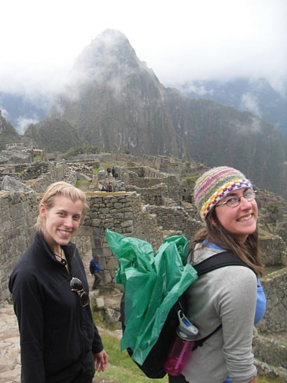 Jev at Machu Picchu