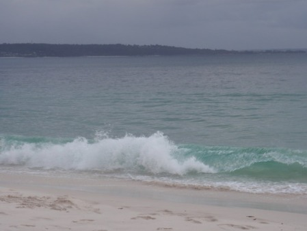 Greenpatch Beach in Jervis Bay