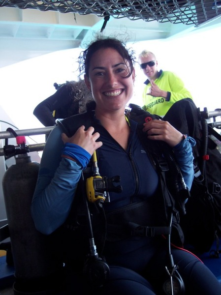 Dara dives into the Great Barrier Reef