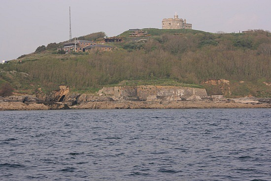 Fort Pendennis in Cornwall
