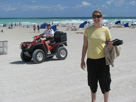 Kristenjohn on South Beach