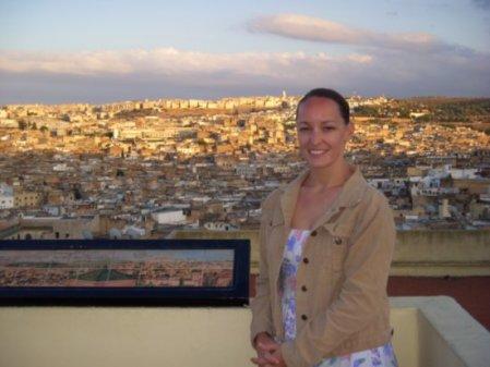 Chooklotto overlooking the Fes medina
