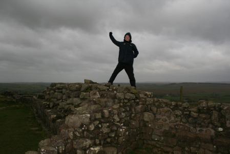 Traylertravels on Hadrian's Wall tsk tsk tsk