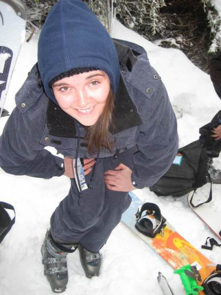 Sarahndebs on Mount Buller