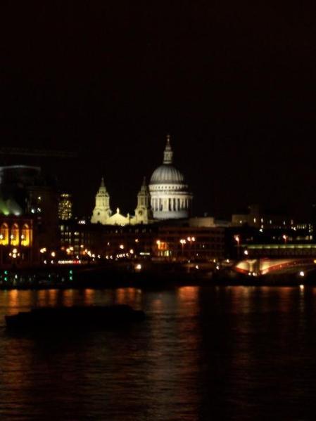 St. Paul's Cathedral from Waterloo Bridge by Nklenske