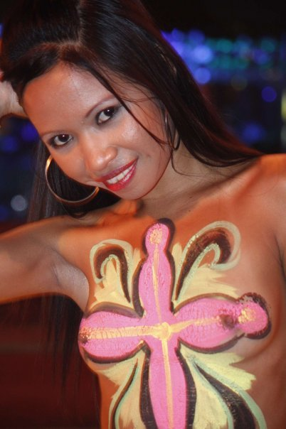 Norwegian Body Painting