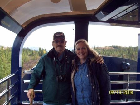 Margiewilson spent a week enjoying the wilderness in Fairbanks