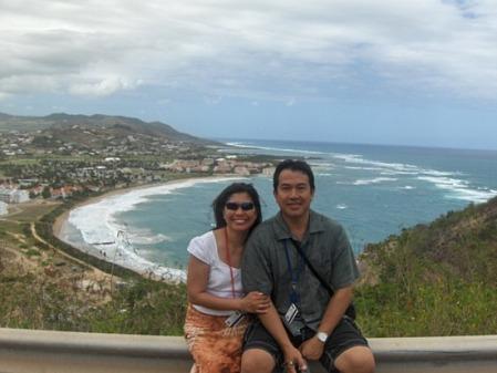 Ri-anne.cruz loved the seaside views at Frigate Bay in St. Kitts