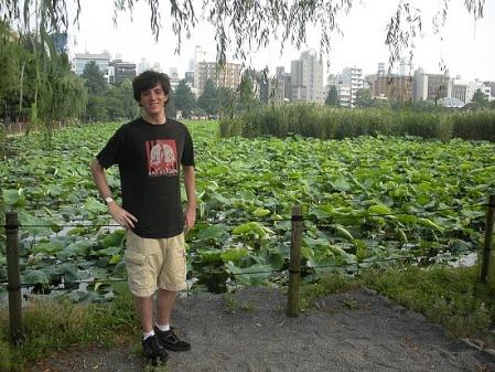 Sean of Seanandkat in Ueno-mura, Japan