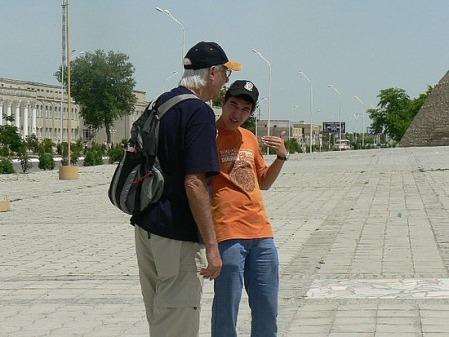 Crowdywendy's tour guide in Uzbekistan, Behruz