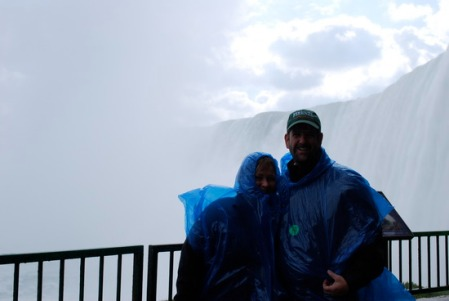 """Donhad thought Niagara Falls was """"worth the trip"""""""