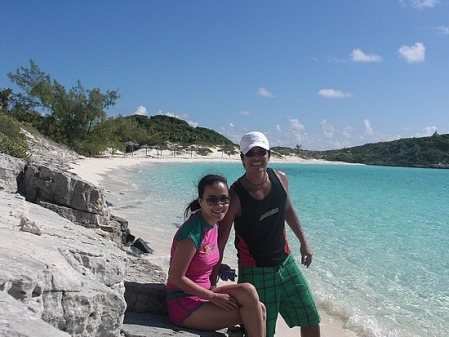 Hecqs really enjoyed Bahamas' Exuma islands