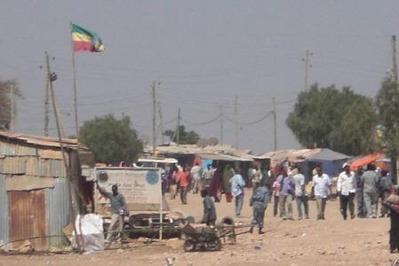 Hardiek at the border of Somalia