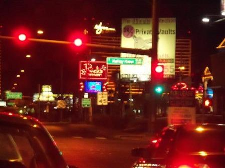 Alvrez got lost amongst the Las Vegas lights